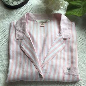 Victoria's Secret Pajama Top Button Down Sz XL